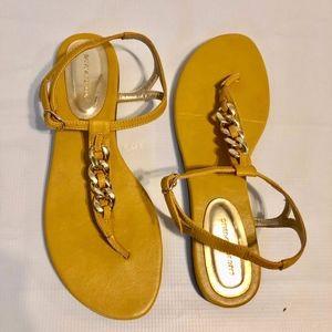 Banana Republic Mustard Sandals